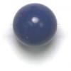 Semi-Precious 8mm Round Reconstructed Lapis Lazuli